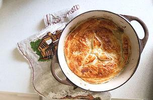 Chicken, Mushroom & Leek Pot Pie