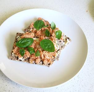 Salmon Crispbreads