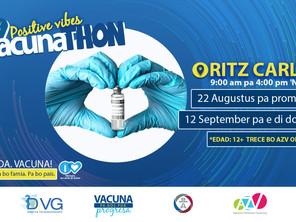 Vacunathon | 22 di Augustus 2021