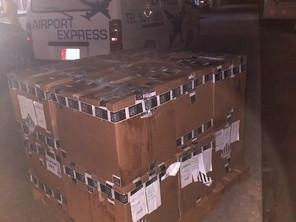 Manera priminti, cargamento nobo di mas PCR Test Kit a yega Aruba.