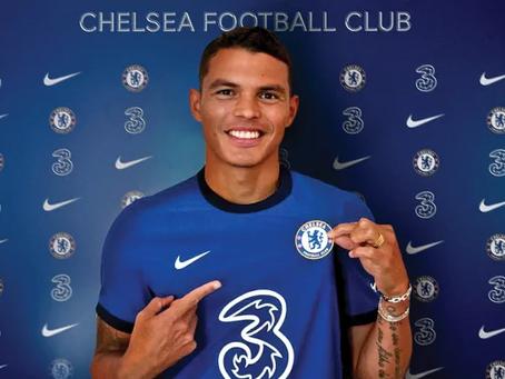 Thiago Silva ta firma cu Chelsea FC