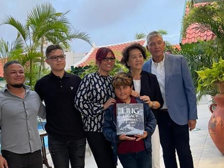 Famia Ling ta lansa e buki: Ling Legacy a journey of Family, Food and One Happy Island.