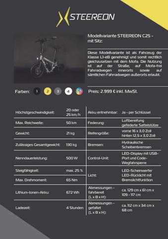 Seiten aus Kundenbroschüre STEEREON_ B2C