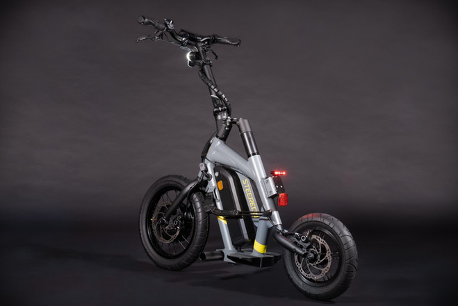 STEEREON S20 - Grau- Sportlicher E-Scoot