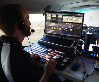 Remote Broadcast in a 16 Passengr Van