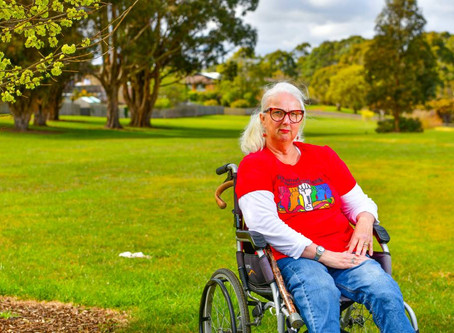 Tammy Milne details COVID-19 experience to Disability Royal Commission