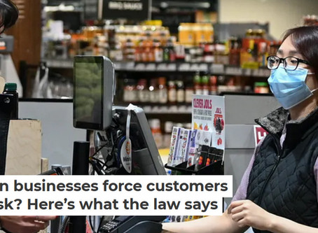 Can Australian businesses force customers to wear a mask? Here's what the law say