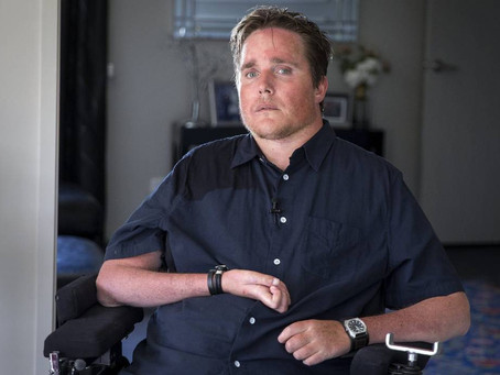The Resilience Project, Patrick Bronte launched documentary website while grappling with disability