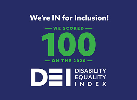 Verizon earns a top score on the 2020 Disability Equality Index for the fifth consecutive year.