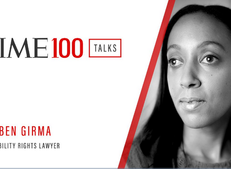We Find Ways to Come Up With Solutions.' Haben Girma on How Disability Drives Innovation