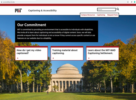 MIT launches website to help with captioning media content
