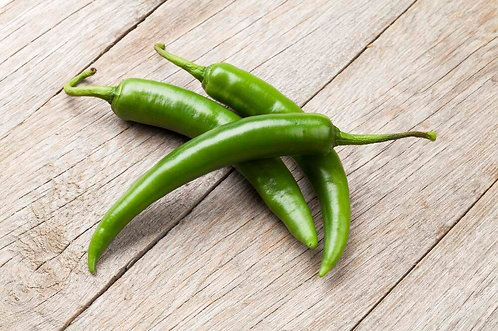 Green Chillies (0.25 kg)