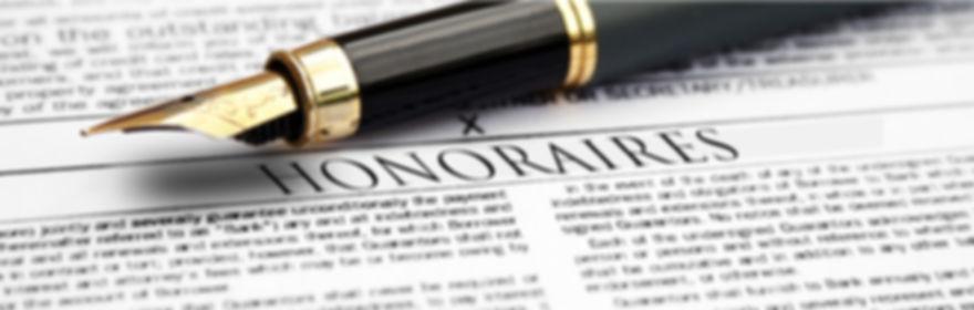 PEETERS, avocat, honoraires raisonnables, modérés