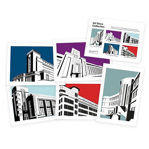 Art Deco Postcard Collection