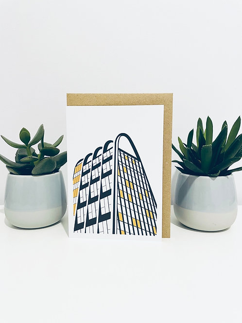 Toast Rack Greeting Card