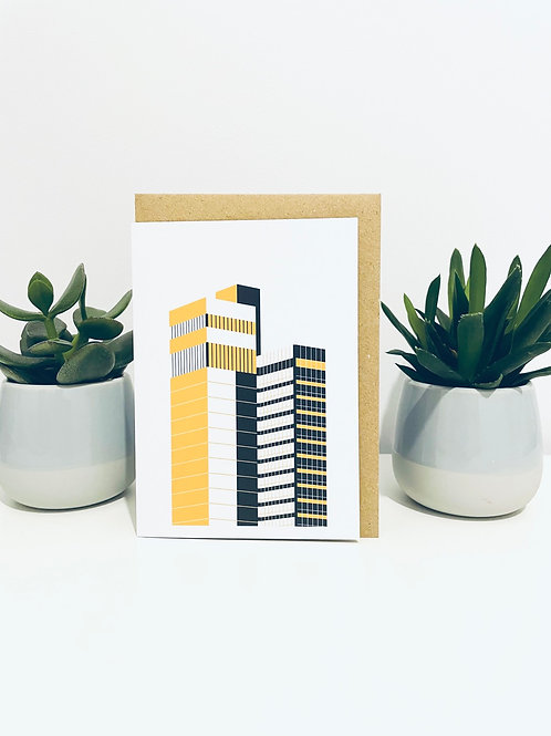 CIS Tower Greeting Card