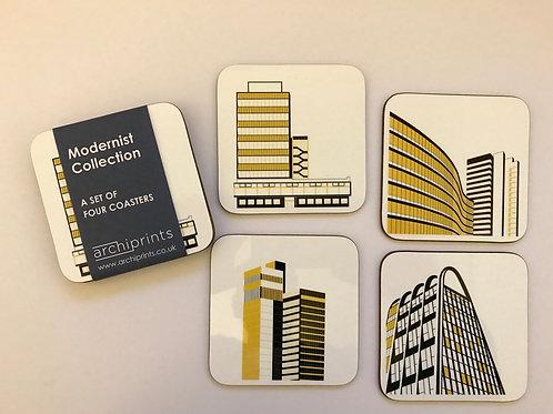 Modernist Coasters