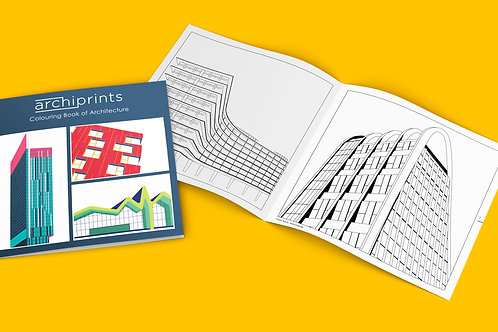 Colouring Book of Architecture