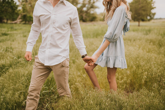 Romantic Fort Collins engagement photography