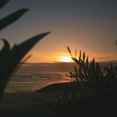Um brinde ao pôr do sol