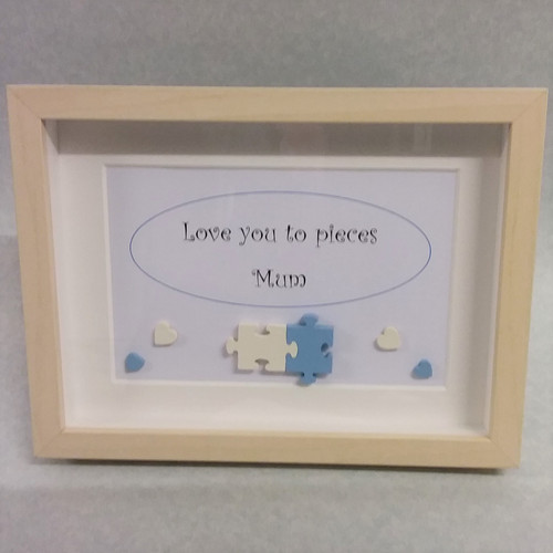 Love You To Pieces Mummummy Frame