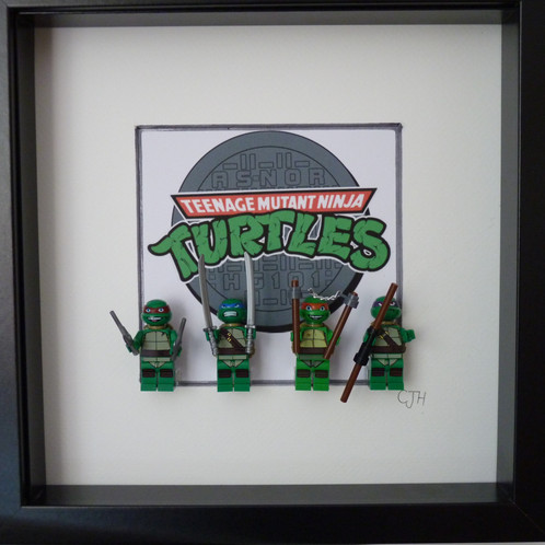 Teenage Mutant Ninja Turtles Figure Frame