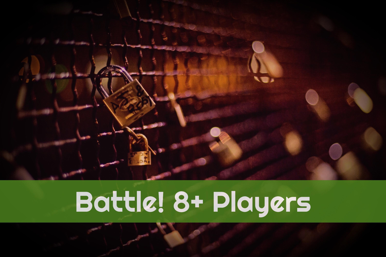 Battle! 8+ Players - Original Game