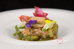 2015-07-01 ensalada de judias verdes con foie-8