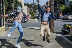 Spring Break Postcard - Nick & Jake Jump