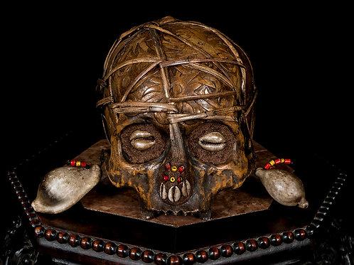 Dayak Trophy Skull, Borneo Indonesia