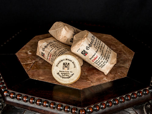 German WWII Red Cross Ointment & Bandages