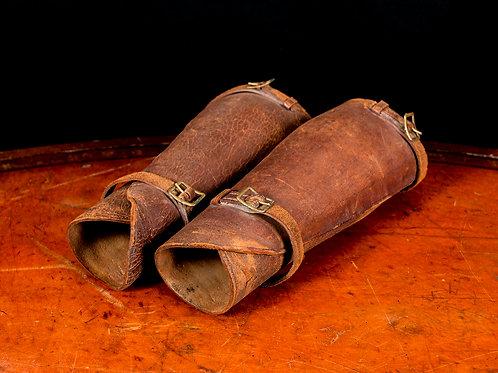 U.S. WWI Leather Cavalry Leggings