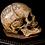 Thumbnail: Tibetan 'Kapala' Skull, Bi-Metal Inlay
