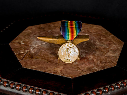 British WWI Victory Medal, Named