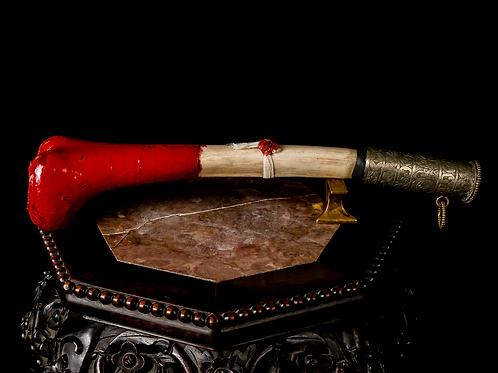 Tibetan Kangling - Human Femur Flute