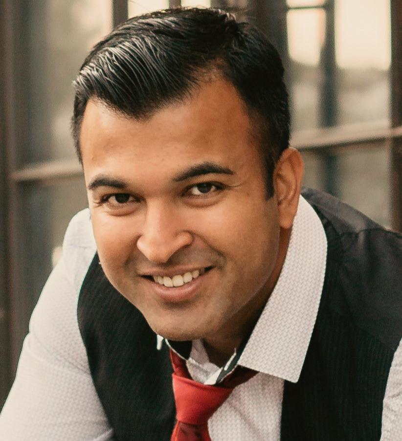Sree Partha headshot, Pratical Logix founder