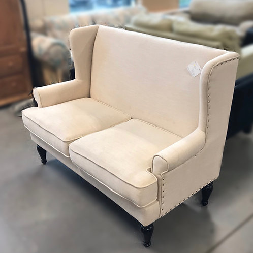 Tan Love Seat