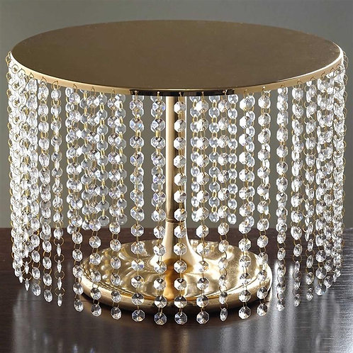 Cake Stand With Crystal Rain