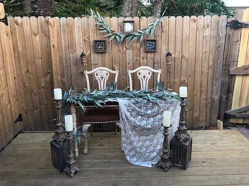 Sweetheart Table Set