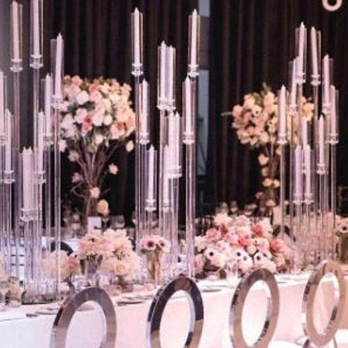 Acrylic 10 candle-stand