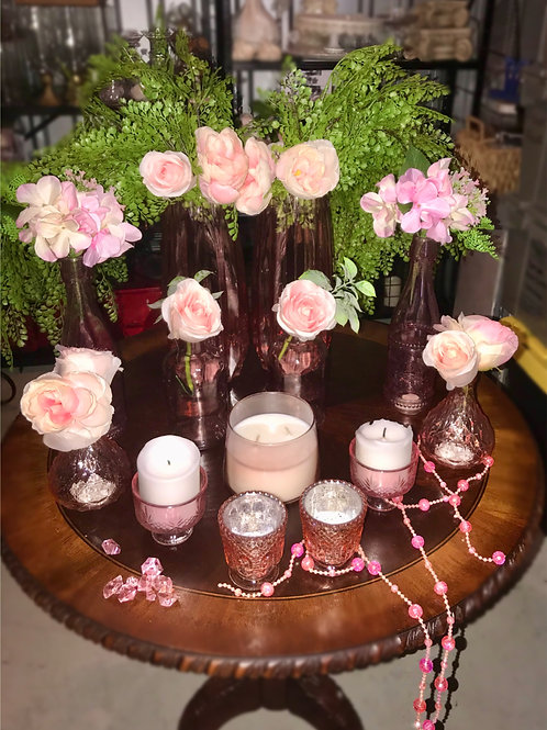 Pink Glass Collection