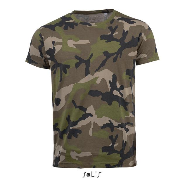 Tee-Shirt camouflage