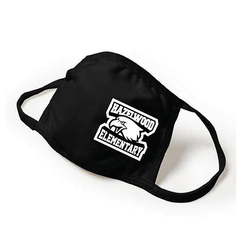 Youth Adjustable Face Mask - Black