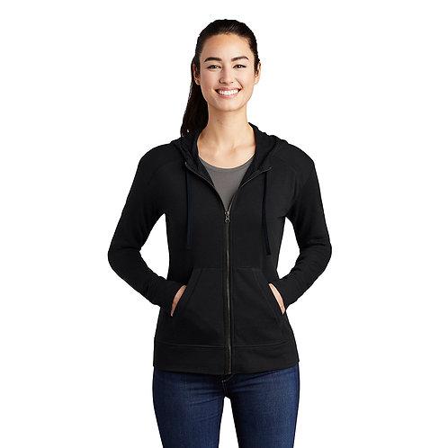 Ladies Sport Tek Full Zip Hoodie (XS-4XL)