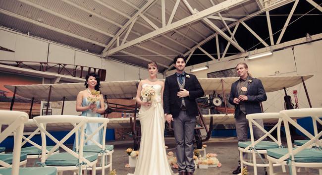 Pan Am Wedding