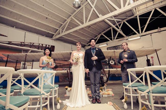 Pan Am Wedding