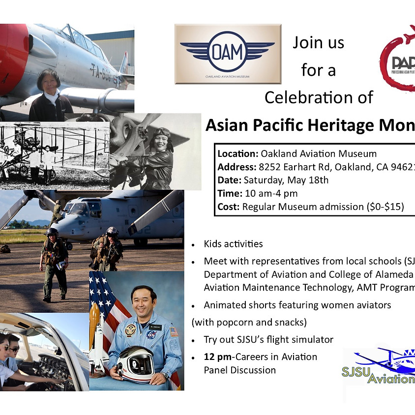 Asian Pacific Heritage Month Event