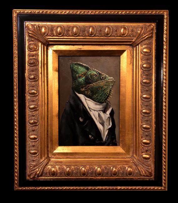 """""""Chameleon in a Cravat"""""""