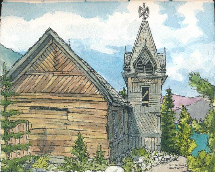 Wooden Church at Bennett Camp
