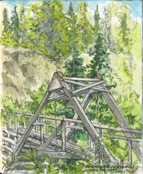 The Bridge the Inmates Built, Lindeman City Camp